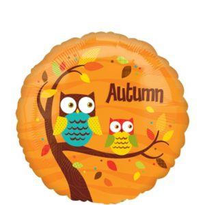Autumn Balloon - Owls