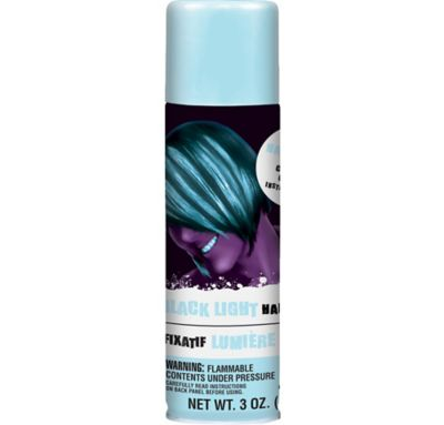 Black Light Glow in the Dark Hairspray 3oz