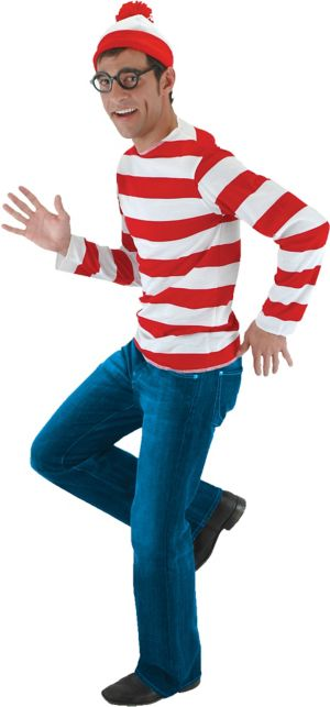Adult Where's Waldo Costume