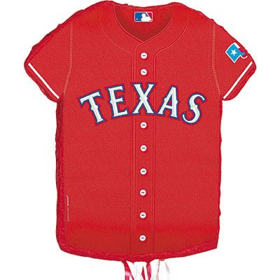 Pull String Texas Rangers Pinata