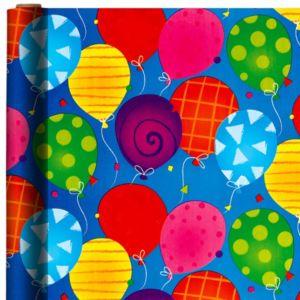 Jumbo Bright Balloon Gift Wrap