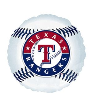 Texas Rangers Balloon - Baseball