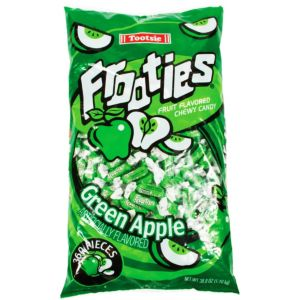 Green Apple Frooties Chewy Candy 360ct