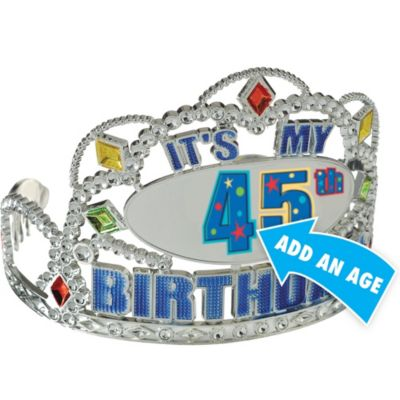 A Year to Celebrate Personalized Tiara