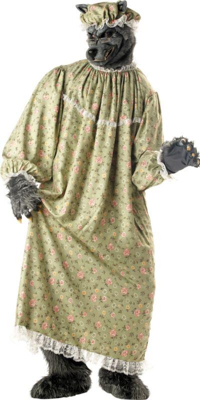 Adult Granny Wolf Costume