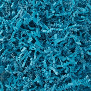Blue Crinkle Paper Shreds