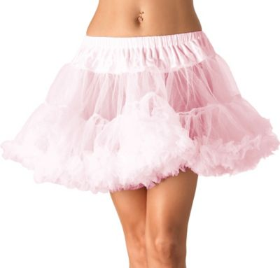 Adult Light Pink Tulle Petticoat