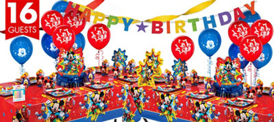 Mickey Mouse Party Supplies Deluxe Party Kit