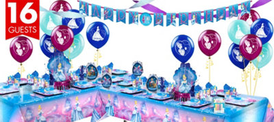 Cinderella Deluxe Party Kit for 16 Guests