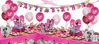 Minnie Mouse Deluxe Party Kit for 16 Guests