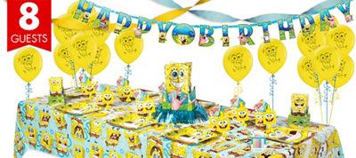 SpongeBob Super Party Kit for 8 Guests