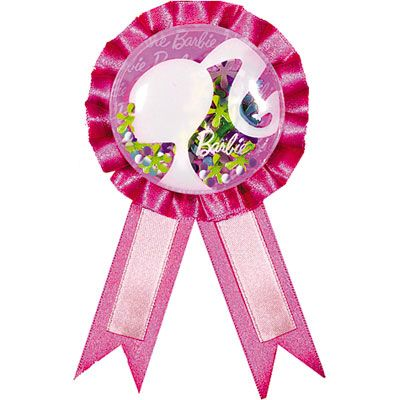 Barbie Award Ribbon