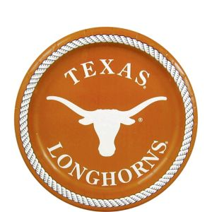 Texas Longhorns Dessert Plates 8ct