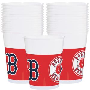 Boston Red Sox Plastic Cups 25ct