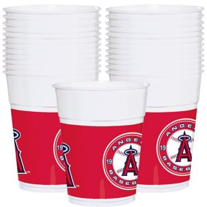 Los Angeles Angels Plastic Cups 25ct