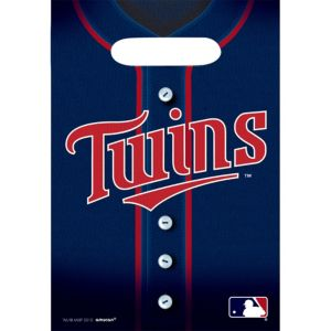 Minnesota Twins Favor Bags 8ct