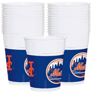 New York Mets Plastic Cups 25ct