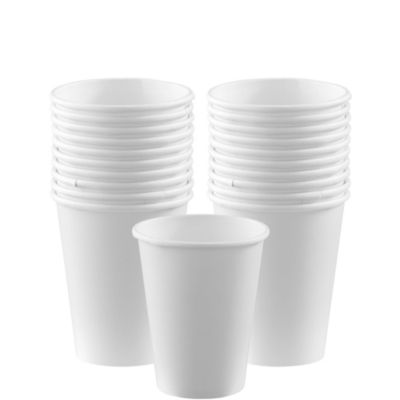 White Paper Cups 20ct