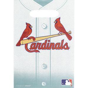 St. Louis Cardinals Favor Bags 8ct