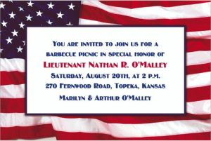 Custom Flying Colors Patriotic Invitations