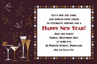 Let's Toast Custom Invitation