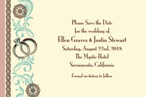 Custom Bridal Shower Day Invitations