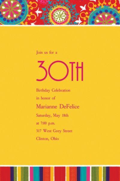 Del Sol Motifs Custom Invitation