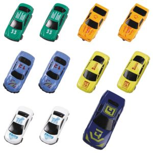 Die-Cast Race Cars 21ct
