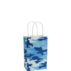 Blue Camo Gift Bag
