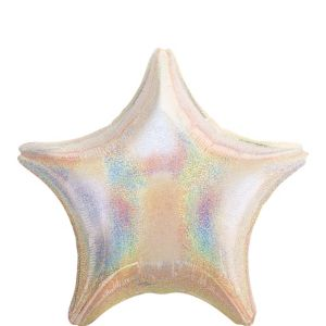 Iridescent Star Balloon