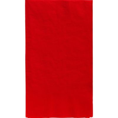 Red Guest Towels 16ct