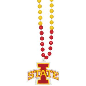 Iowa State Cyclones Pendant Bead Necklace