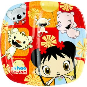 Ni Hao Kai Lan Lunch Plates 8ct