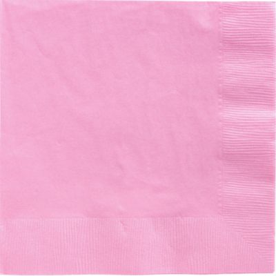 Pink Dinner Napkins 50ct