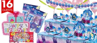 Cinderella Ultimate Party Kit for 16 Guests