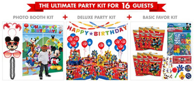 Mickey Mouse Ultimate Party Kit for 16 Guests