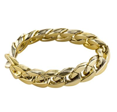 Hip Hop Big Links Gold Bracelet