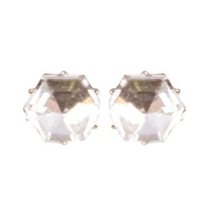 Big Diamond Stud Earrings