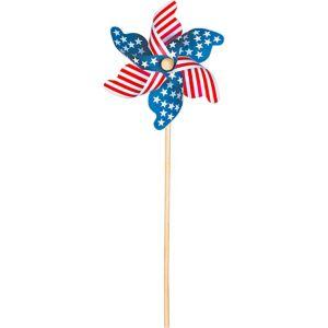 Patriotic American Flag Pinwheel