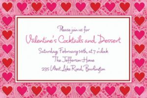 Custom Key To Your Heart Valentine's Day Invitations