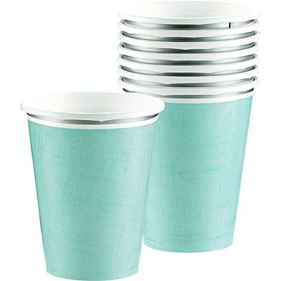 Turquoise Border Cups 18ct