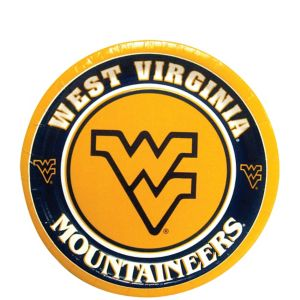 West Virginia Mountaineers Dessert Plates 8ct
