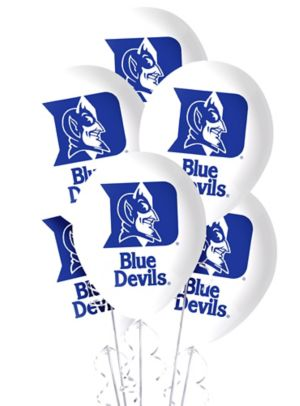 Duke Blue Devils Balloons 10ct