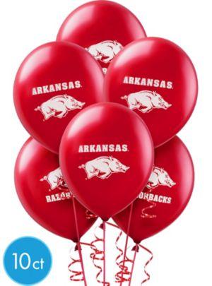 Arkansas Razorbacks Balloons 10ct