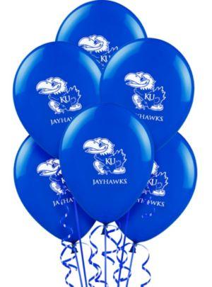 Kansas Jayhawks Balloons 10ct