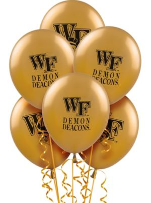 Wake Forest Demon Deacons Balloons 10ct