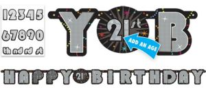Time To Party Custom Banner 6ft