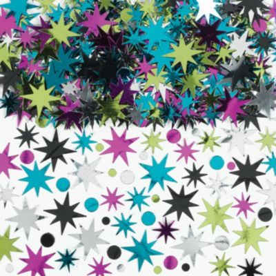 Star Burst Value Confetti 2 1/2oz