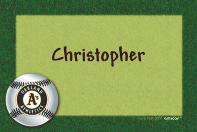 Custom Oakland Athletics Thank You Notes