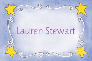 Custom Sweet Stars & Swirls Baby Shower Thank You Notes